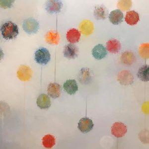 Toile ballons de Valérie Daubé